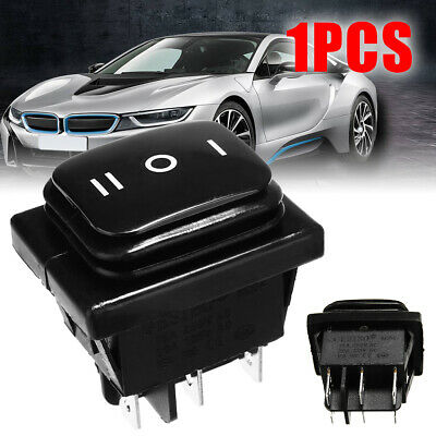 1pc 12V 12A Car Boat ON-OFF-ON SPST 6 Pin Rocker Toggle Switch Waterproof New