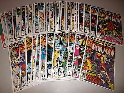 Iron Man #129-167  (Complete run of 39)  130 131 132 133 134 135 136 137 138 lot