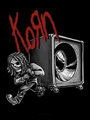 Korn Bringing the bass Textile Poster Flag