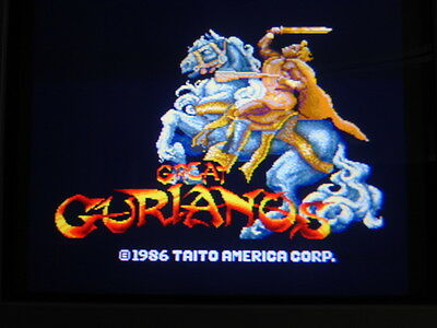 Great Gurianos -- Taito / Original Work & Clean / Arcade Jamma Pcb  **  608