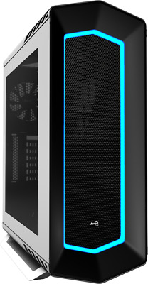 Aerocool P7-C1 White Mid Tower Case w/Tempered Glass side panel