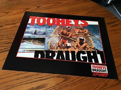TOOHEYS DRAUGHT SPORT SERIES POSTER FROM 1990's LIFESAVERS