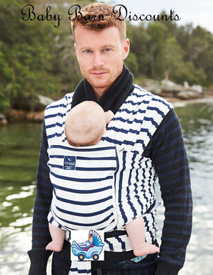 NEW Hug a Bub Pocket Wrap - French Sailor Stripe from Baby Barn Discounts