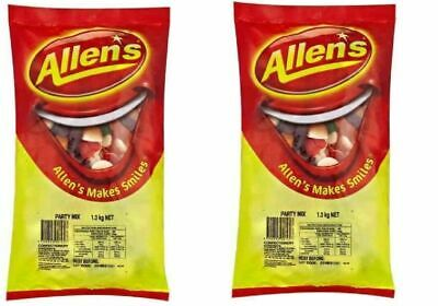 Allens Party Mix 2.6kg Lollies Bulk Party Favours Candy Buffet Lolly Favours