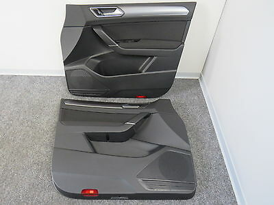 original door panel with trim and interior ambient lighting VW Touran 5T II