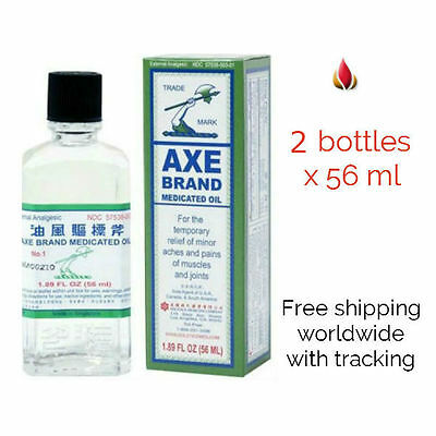 56ml Axe Brand Universal Oil for headaches, stomach aches, sprains, insect bites