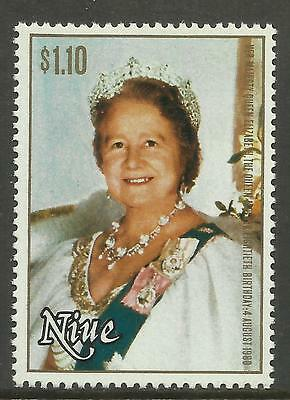 NIUE 1980 80th Birthday QUEEN ELIZABETH QUEEN MOTHER 1v MNH