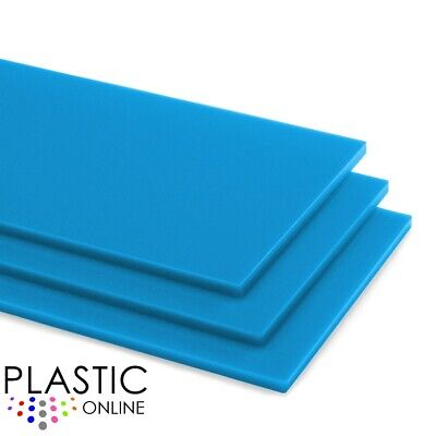 Light Blue Colour Perspex Acrylic Sheet Plastic Material Panel Cut to Size