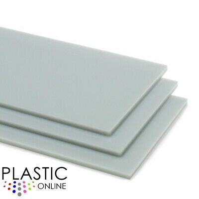 Grey Colour Perspex Acrylic Sheet Plastic Material Panel Cut to Size