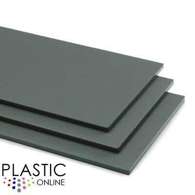 Mineral Grey Matt Frost Colour Perspex Acrylic Sheet Plastic Panel Cut to Size