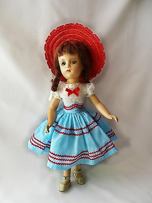 "LOVELY! Vintage "" MARGARETT O'BRIENT "" Composition Doll 15"" by Madame Alexander"