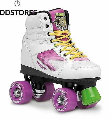 Roces 450607 001 rollerskates colossal Blanc White Purple Yellow 35