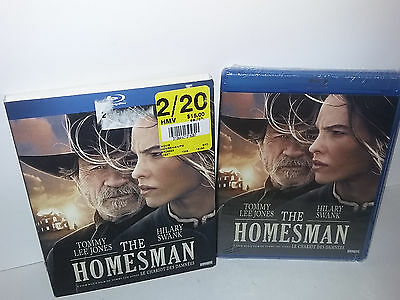 The Homesman (Blu-ray, Canadian, Region A, Slipcover, 2015) NEW - With Extras