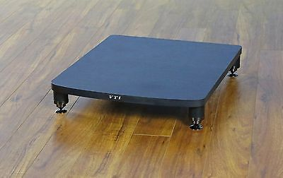 VTI Glass Amp Stand Brand New,Free Ship AGR401 Silver