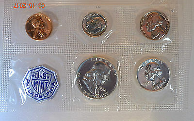 1959 United States Silver Proof Set (5 Coins)