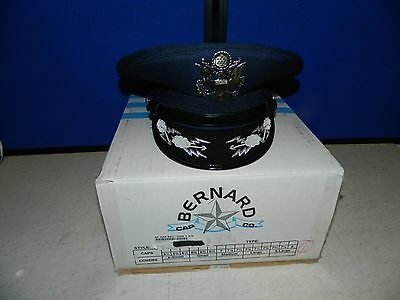 """Air Force Officers Hat Size 7 3/4"""", Boullion With Original Box"""