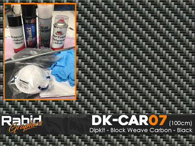 Hydro dipping Hydrographics home starter Dip Kit - Carbon Fibre 7 (DK-CAR07)