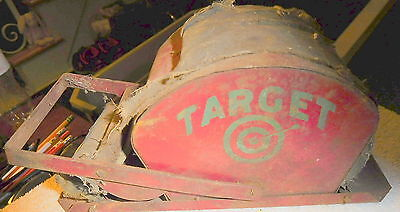 Antique Tabletop Target Printing roll  Press Letter Printer Vintage Very Rare