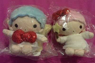 Little twin stars plush doll from Japan kiki lala NEW