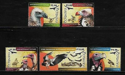 Botswana 2015 issue - Vultures Mint NH