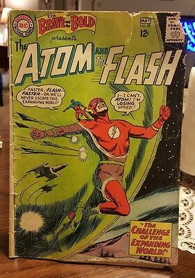 Vintage DC Comics, The Atom and the Flash #53