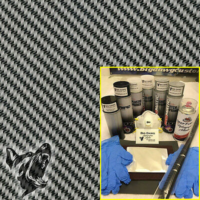 Hydro dipping Hydrographics home starter Dip Kit - Carbon Fibre 8 (DK-CAR08)