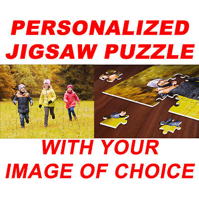 Personalized Jigsaw Puzzle w/ your picture of choice 1014 pcs 20x30 custom print