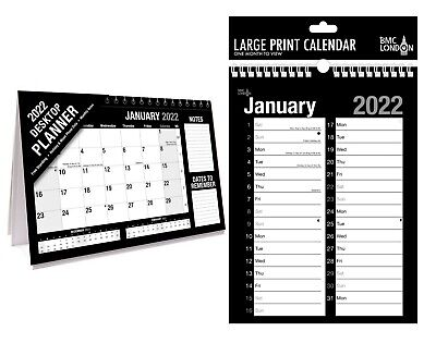 Large A1,A2, 2017- 2018 Academic Mid Year Wall Planner Calendar SCHOOL/COLLEGE