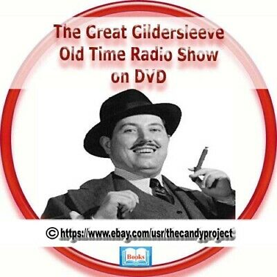 527 Mp3s The Great Gildersleeve Old Time Radio Shows Detective Audiobooks DVD