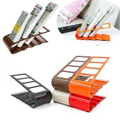 TV/DVD/VCR Organiser Mobile Phone Holder Stand 4 Frame Remote Control Storage