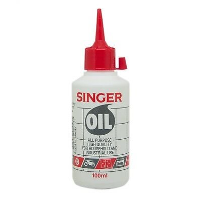 SINGER High Quality Oil For All Purpose Household & Industrial Use 100ml