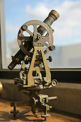 Antique Troughton & Simms Transit Theodolite c1880