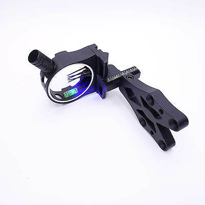 Mandarin Duck Compound Bow 5 Pin Sight Black w Cold Light Lamp Hunting