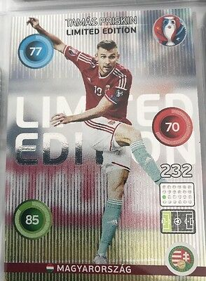 Panini Adrenalyn XL Euro 2016 Tamas Priskin Limited Edition