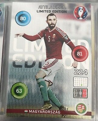 Panini Adrenalyn XL Euro 2016 Attila Fiola Limited Edition