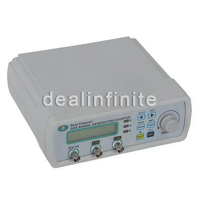 Digital DDS Dual-channel Signal Generator Source Frequency Meter 25MHz