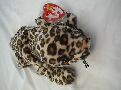 TY Beanie Baby Freckles Leopard Cat 1996