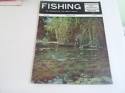Vintage AUGUST 1967  FISHING The Magazine For The Modern Angler + Advertising
