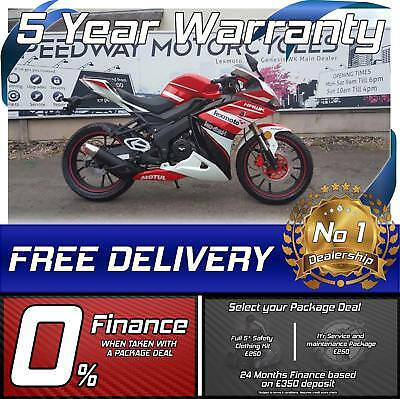Lexmoto Hawk 125cc motorcycle motorbike sportsbike learner legal