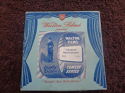 WALTON FILMS CHARLIE CHAPLIN  200FT CINE FILM 8mm CHARLIE SHANGHAIED..