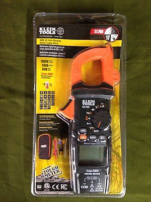 Klein Tools Cl700 600A Auto-Ranging Digital Clamp Meter -New