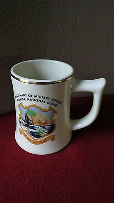 """ DEPARTMENT OF MILITARY AFFAIRS ~ FLORIDA NATIONAL GUARD "" Mug: "" RARE - NICE """