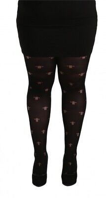 c5a923222eed1 Gothic Cross Opaque Black Tights Plus size 16-32 xl xxl xxxl Pamela Mann  Goth