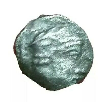 Unidentified Ancient  Greek Coin. Silver Obol