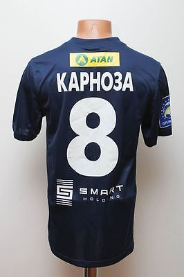 Fc Sevastopol Ukraine 2013/2014 Match Worn Football Shirt Jersey Nike #8 Karnoza