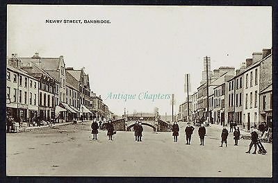 c.1918 Newry Street Banbridge County Down Northern Ireland Postcard B40