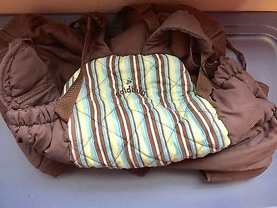 Goldbug Blue Green Brown Baby Boy Shopping Cart Cover Seat