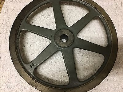 "Boston Gear G1210, Cast Iron V Belt 3/8"" Pulley, Bore 3/4"", Od 10 1/16"""