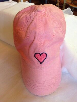 Life Is Good *Pink* with red heart Girls Youth Baseball Hat Cap Adjustable   *A*