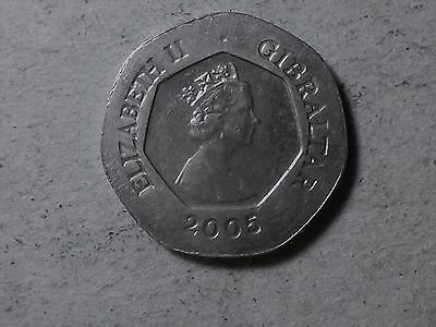 Gibraltar 20 pence 2005 Keys to Europe